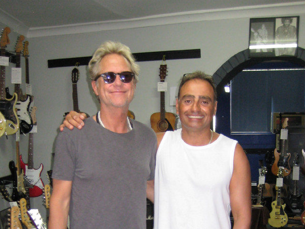 Leo with Gerry Beckley