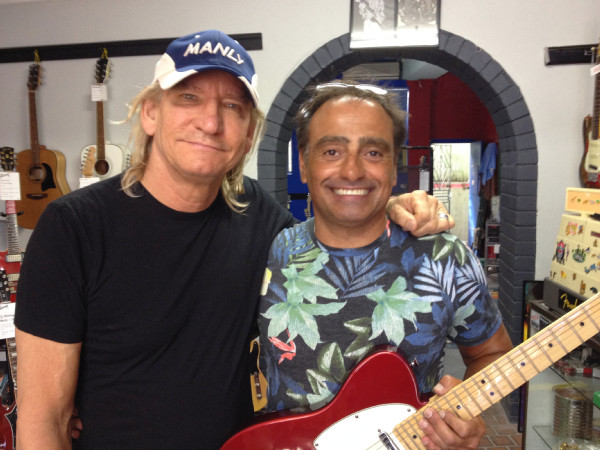 Leo with Joe Walsh